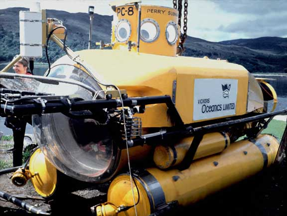 Vickers brought this PC8 to Loch Ness in 1973